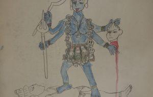 とても恐ろしいインドの女神カーリー - 大野貴士