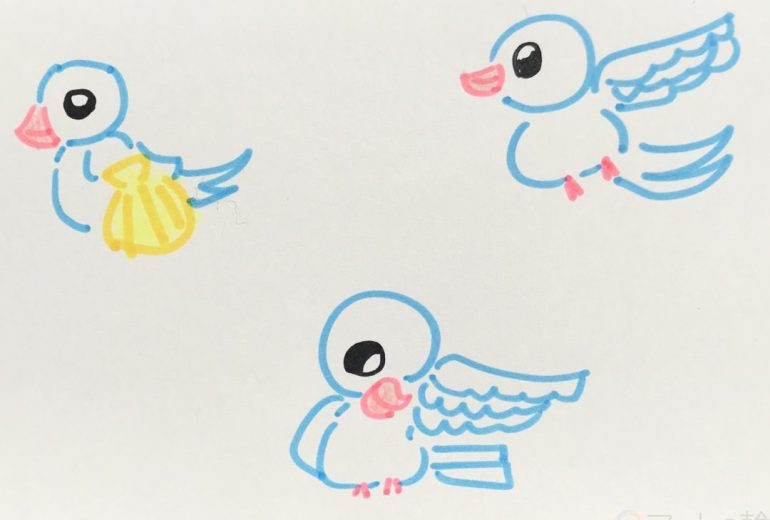白い鳥 2