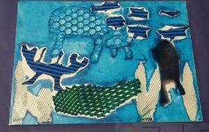 リサイクル材料で水族館の生き物づくり - Towa