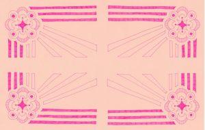 幾何学のマット - 虎目梨那
