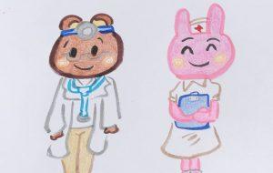 ドクターと看護師さん - クルミ