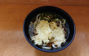 食べてみた、浜松駅のふぐ天うどん - 中河原昭仁