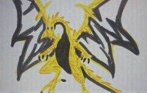 黒黄色龍 - 池田 旬