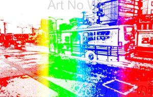 流浪流転の旅人_なかさん★_アンビエントサイバースクリーン風_ダイジェスト版_01 - 可能性アートプロジェクト 2020
