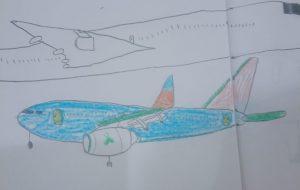 中島涼介_飛行機 - 可能性アートプロジェクト 2020