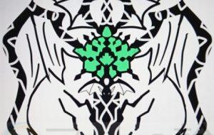 池田旬_エメラルドドラゴン紋章 - 可能性アートプロジェクト 2020