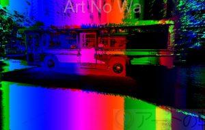 流浪流転の旅人_なかさん★_アンビエントサイバースクリーン風_完結編 - 可能性アートプロジェクト 2020