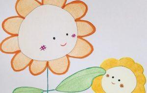 一里_ひまわりの親子 - 可能性アートプロジェクト 2020