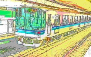 流浪流転の旅人_なかさん★_色鉛筆スケッチ画風02 - 可能性アートプロジェクト 2020