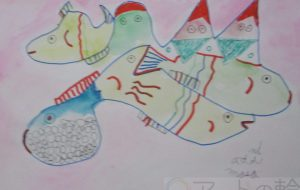 マサミ_山と魚 - 可能性アートプロジェクト 2020