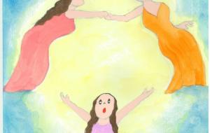 神めぐみ_幸せとは - 可能性アートプロジェクト 2020