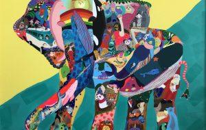 のっち_楽しいゾウ - 【イベント】可能性アートプロジェクト 2020