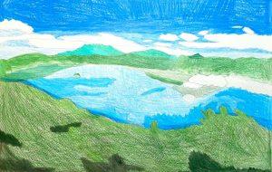 霧のない摩周湖 - SAYAKA