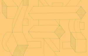 幾何学タペストリ3 -