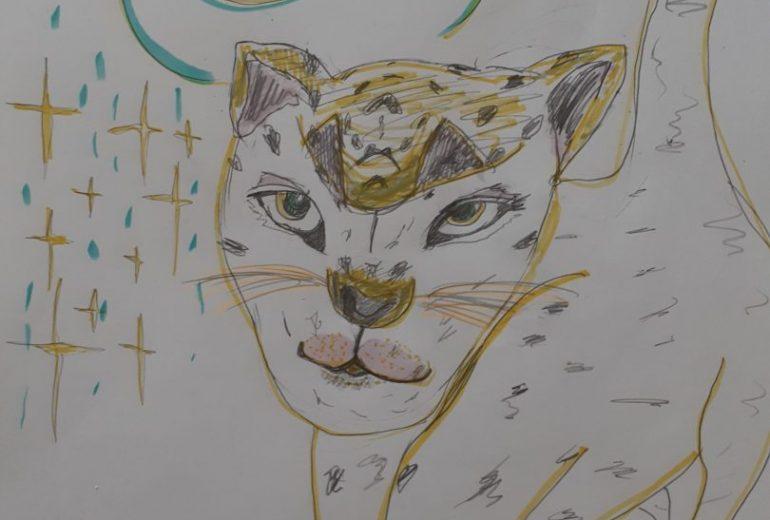 豹さん。貴方の前で、豹変!?