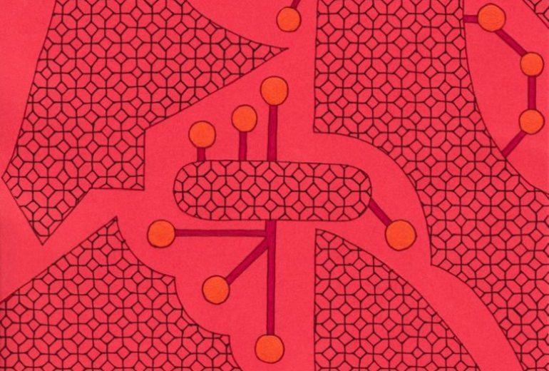 幾何学タペストリ4