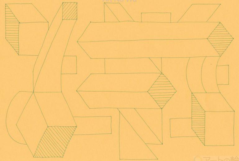 幾何学タペストリ3