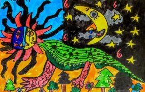 いびつな太陽と笑う月 - 田中郷