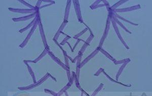 手描き紫 - 池田 旬