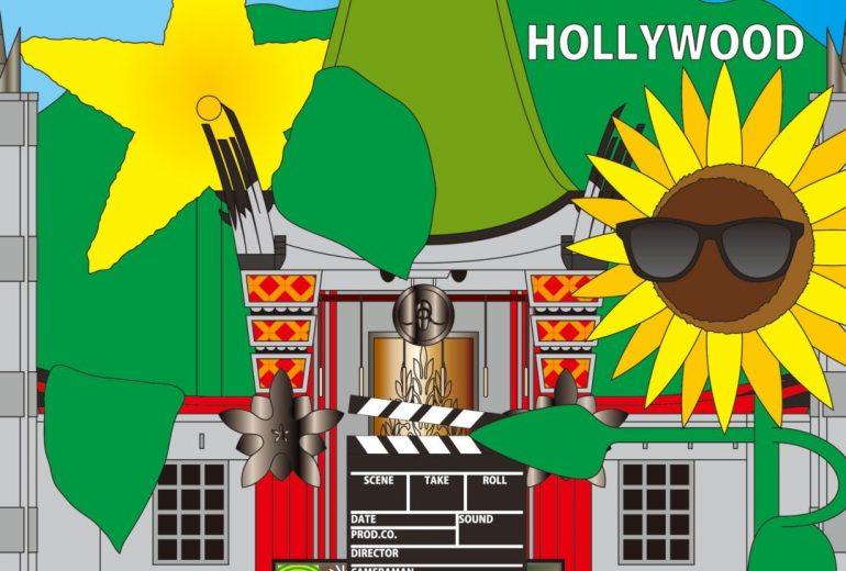 花達、ハリウッドで大撮影!