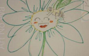 笑う蜜蜂とお花。 - ワタリドリ