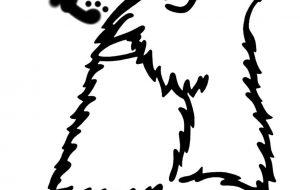 ホッキョクオオカミ - シマハイエナ
