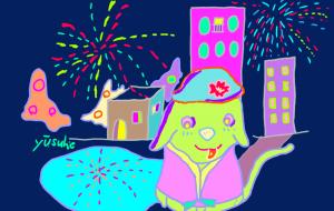 花火が開花 - yuusuke47