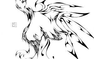 鳥 - キナコモチコ