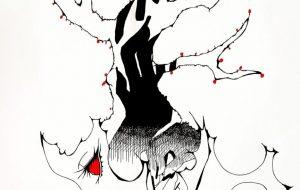 横顔に梅の花 - キナコモチコ