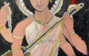 インドの女神サラースバティ - 大野貴士