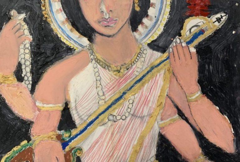 インドの女神サラースバティ