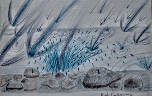 水溜りの流滴群 - 上沼千騎