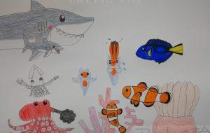 海の中の生き物 - SAYAKA