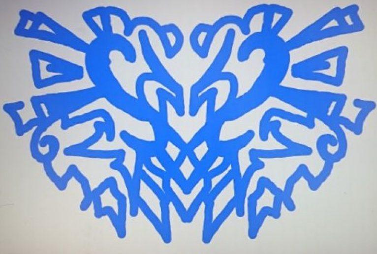 青ハート紋章 - 池田 旬