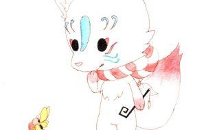 キツネのキャラクター - マカロニ