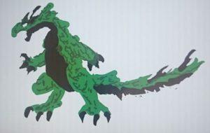 緑大怪獣 - 池田 旬