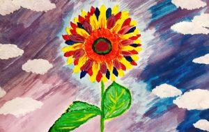 雲の中でしか存在しない向日葵 - maki
