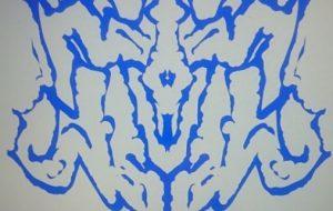 左手ブルー紋章 - 池田 旬