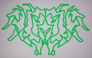 左手緑紋章 - 池田 旬