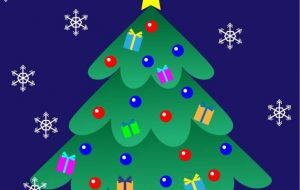 クリスマスカード(ツリー) - くみぱんつ