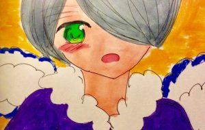 ハネの生えた少年 - 水樹