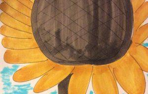 8月の向日葵 - 水樹