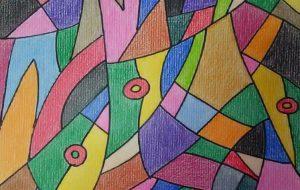 色彩のリズム - 田中郷