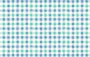 青と緑のチェック - 虎目梨那