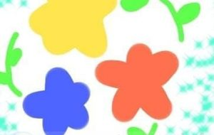 花たちと、葉っぱ - トゥー・A・ルルカ