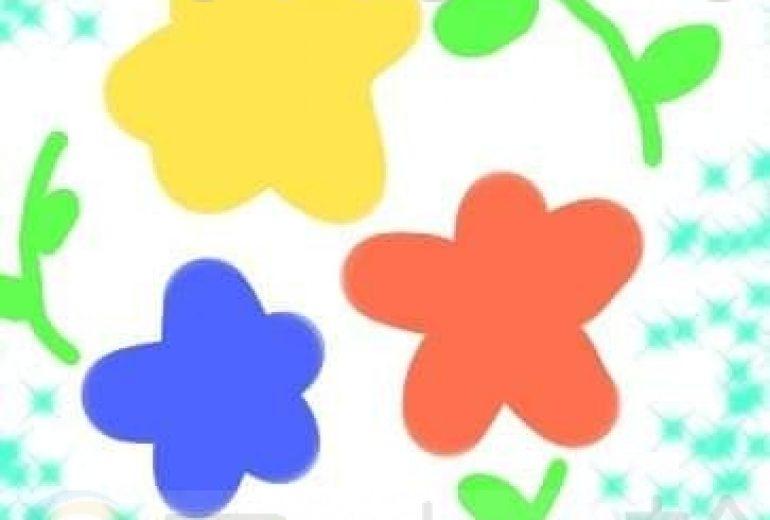 花たちと、葉っぱ