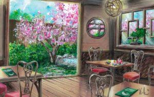 春の和カフェ - Yuki