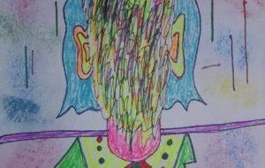 顔のない、青年!「自画像」「我なし」 - マスさん