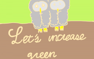 let's increase green - わきっちょ