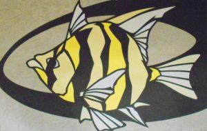 fish(Black&Yellow) - ナリタマサヒロ